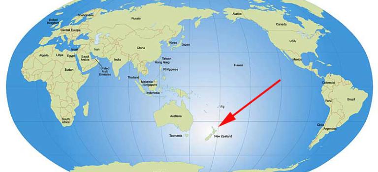 À nous la Nouvelle-Zélande!