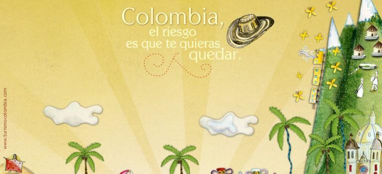 5 semaines en Colombie!